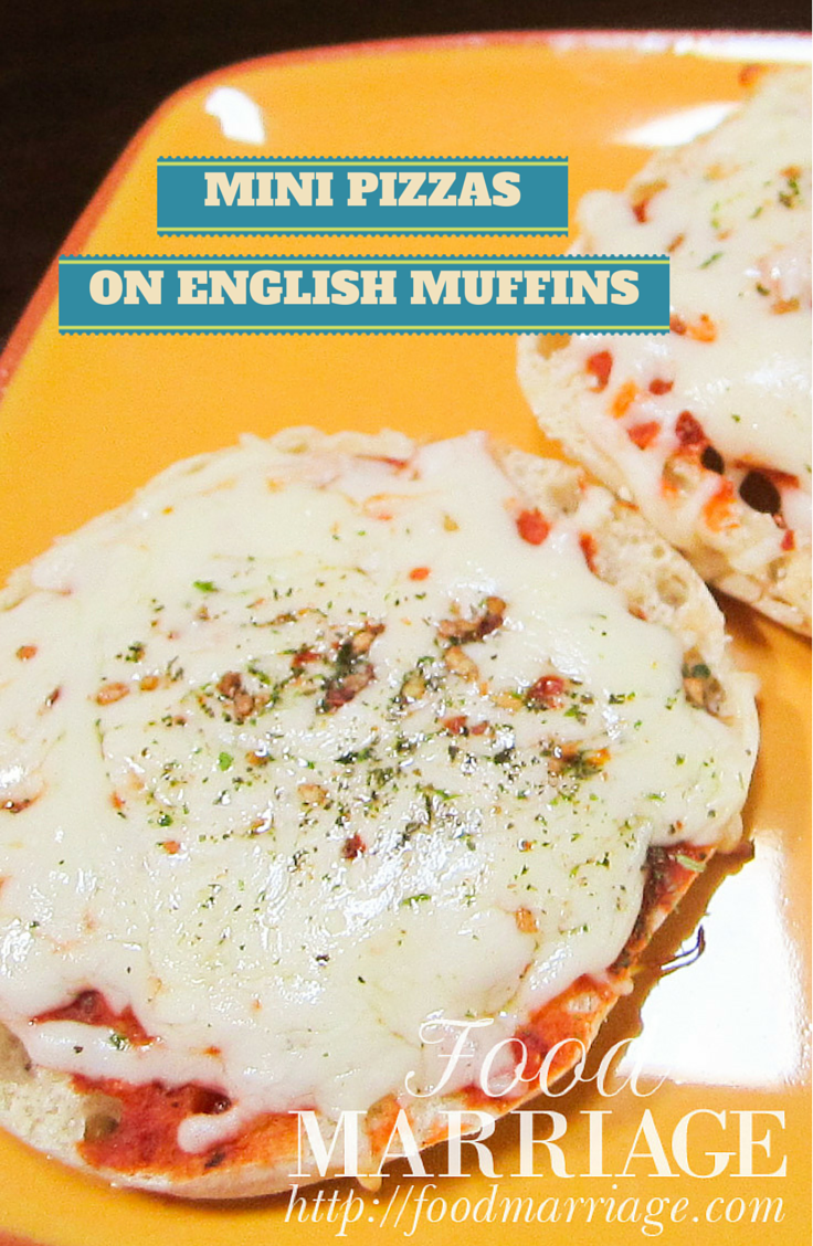 Mini Pizzas on English Muffins