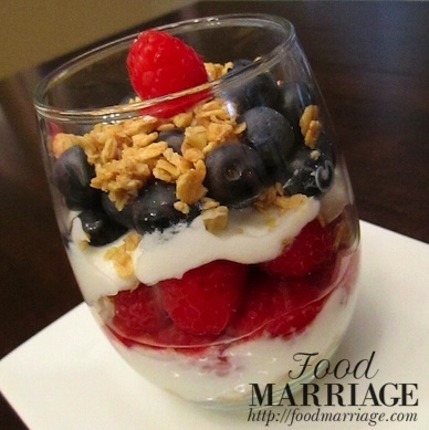 Patriotic Parfait @FoodMarriage