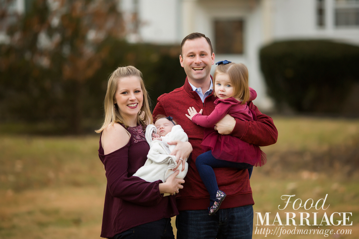 About Food Marriage Blog - Family Photo