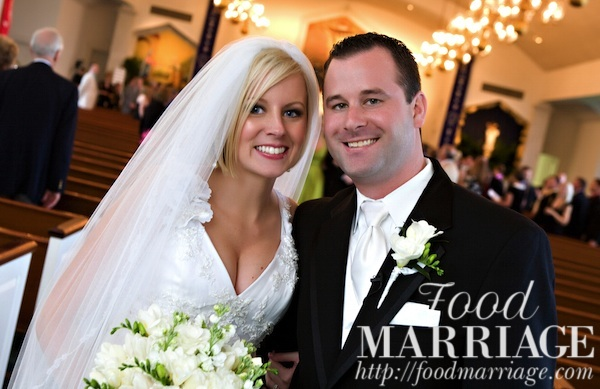 Church Wedding Photo - Food Marriage Blog - Being Married, Having Fun, Loving Life, & Loving Food