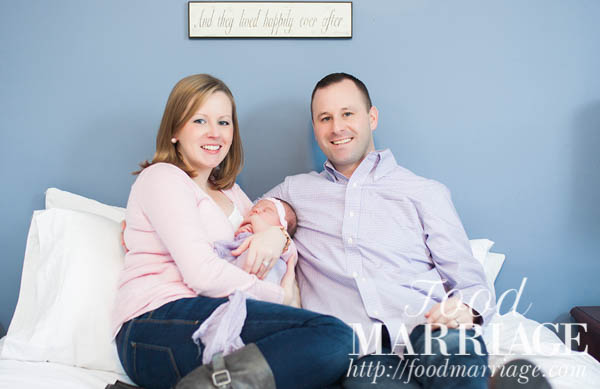 Newborn Photography - Family Photo - Food Marriage Blog - Being Married, Having Fun, Loving Life & Loving Food!