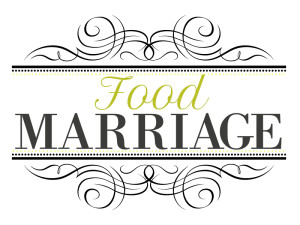 Food Marriage Blog Logo: A Blog about Being Married, Having Fun, Loving Life and Loving Food | FoodMarriage.com