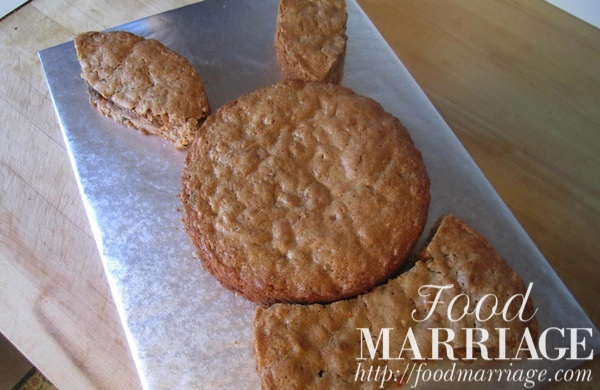 Bunny Shaped Carrot Cake Pattern 2 Food Marriage
