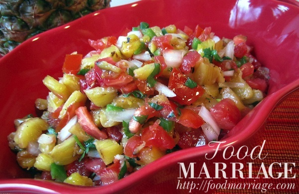 Pineapple Salsa Recipe @FoodMarriage