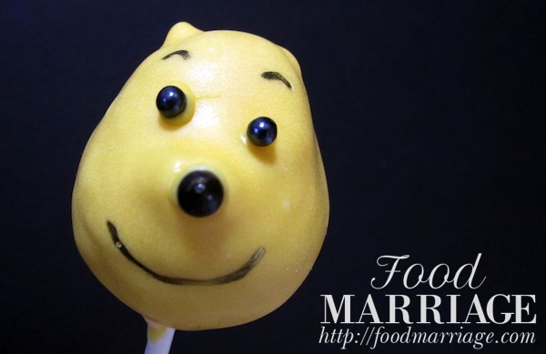 Winnie the Pooh Cake Pops @FoodMarriage