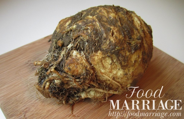 Celeriac Recipe @FoodMarriage