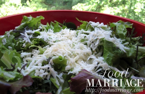 Grated Celeriac in Salad Recipe @FoodMarriage