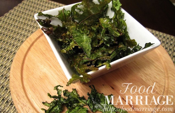 Kale Chips Recipe @FoodMarriage
