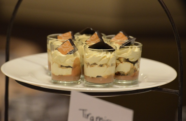 Naming Wedding Reception Tables After Desserts: Tiramisu @FoodMarriage