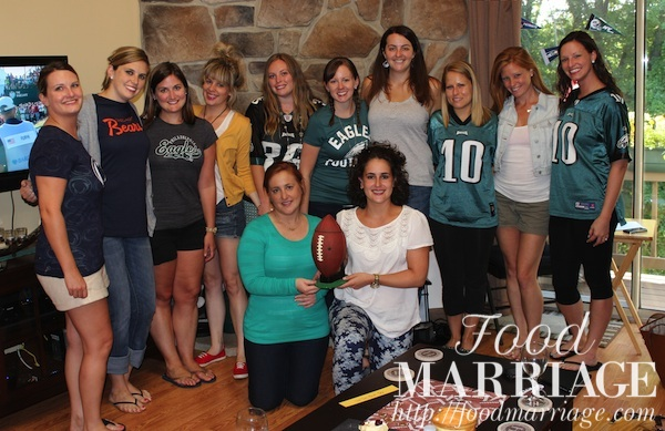 Girls Fantasy Football Draft Party @FoodMarriage