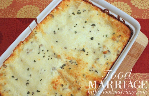 Butternut Squash Lasagna Recipe @FoodMarriage