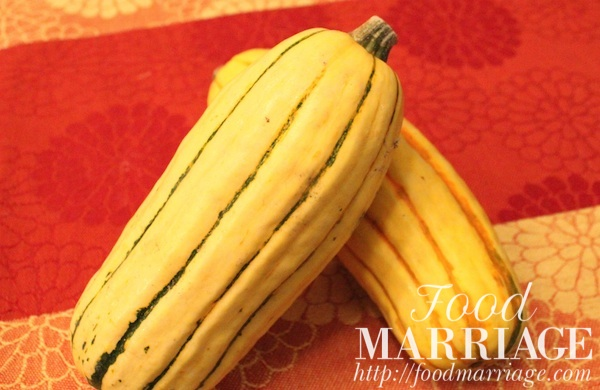 Delicata Squash @FoodMarriage