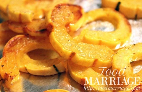 Roasted Delicata Squash Recipe @FoodMarriage