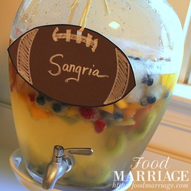 Sweet White Sangria Recipe