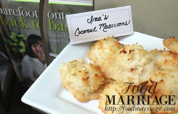 Ina Garten's Coconut Macaroons @FoodMarriage