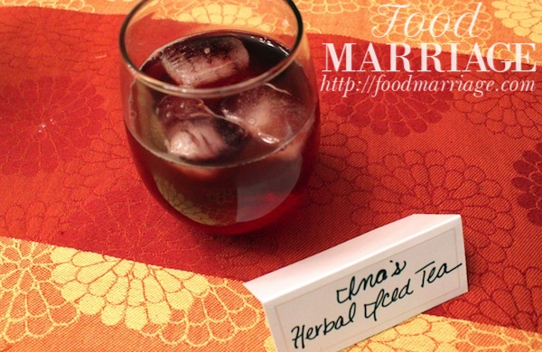Herbal Iced Tea Recipe - Party Sized and Caffeine Free @FoodMarriage