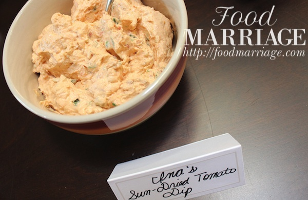 Sun Dried Tomato Dip - Ina Garten Recipe @FoodMarriage
