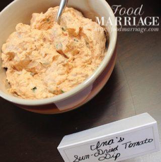 Sun Dried Tomato Dip - Ina Garten Recipe @FoodMarriage