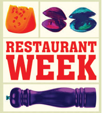 Philadelphia Center City Restaurant Week Logo 2014