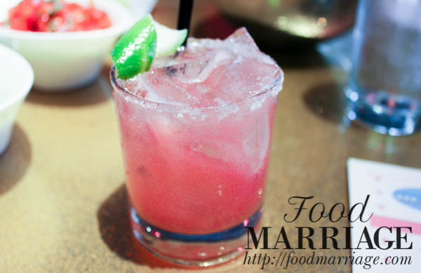 Watermelon Margarita - Distrito Philadelphia Menu - Restaurant Review Food Marriage