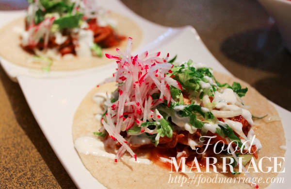 Tacos de Pollo - Distrito Philadelphia Menu - Restaurant Review Food Marriage