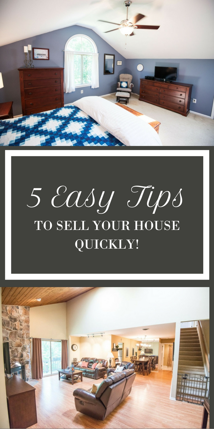 5 Easy Tips to Sell your House Quickly | @FoodMarriage